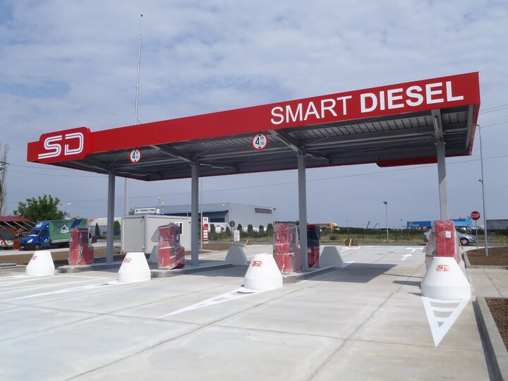Smart Diesel - Fuel stations
