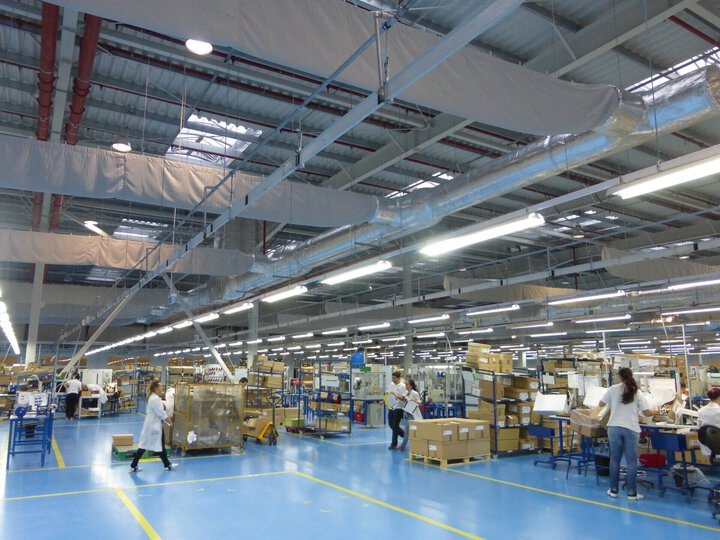 Grupo Antolin - Factory for plastic parts for the auto industry