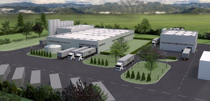 Daw Benta Romania - XPS production and storage facilities, Adhesives production facility